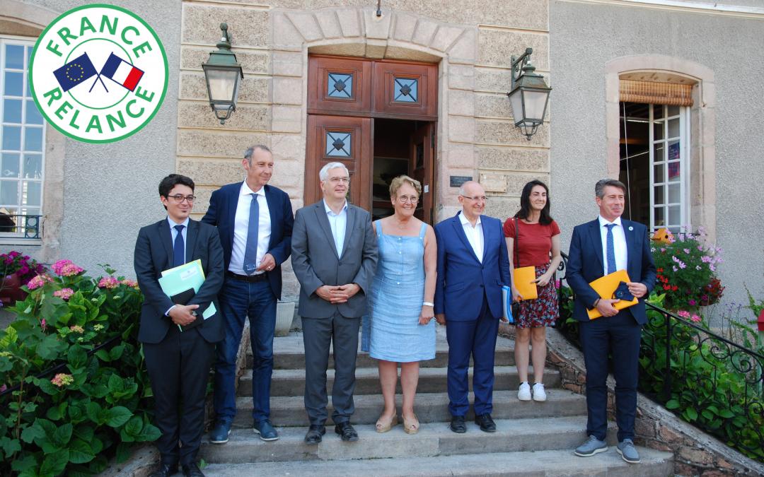 Plan France Relance: Retour sur le déplacement de M. Fabien Sudry, Préfet de la région Bourgogne Franche-Comté, dans la Nièvre (20 juillet 2021)